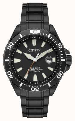 Citizen Royal marines edição limitada 300m titânio ionizado BN0149-57EE