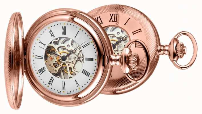 Woodford Relógio de bolso em ouro rosa 1092