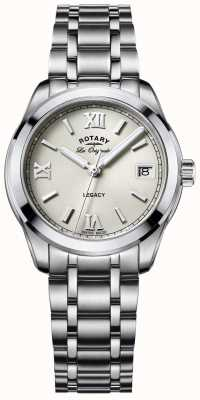 Rotary Womens les originales legacy stainless steel LB90173/06
