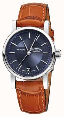 Muhle Glashutte Teutonia ii relógio automático médio M1-30-22-LB
