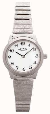 Rotary Mostrador branco de aço inoxidável expansível para mulher LBI0761