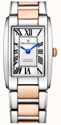 Dreyfuss Elegância dois tons rosa relógio de ouro DLB00147/01