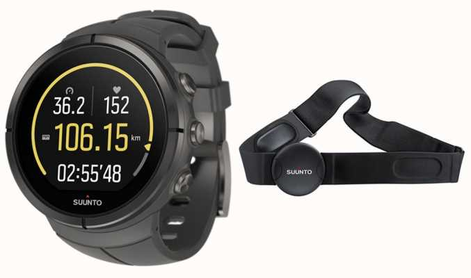 Suunto Titânio ultra stealth espartano (hr) SS022656000