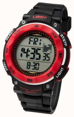 Limit Mens esporte relógio pulseira preta 5486.01
