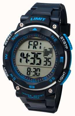 Limit Mens esporte relógio pulseira preta 5487.01