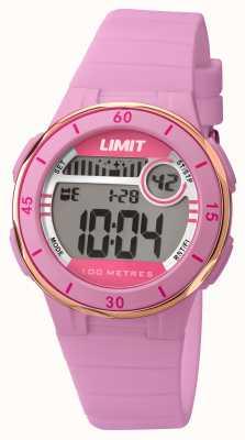 Limit Discagem digital da correia rosa da mulher 5557.24
