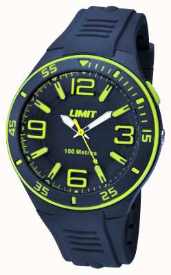 Limit Mens Navy Marinha Marinha Disque 5569.24