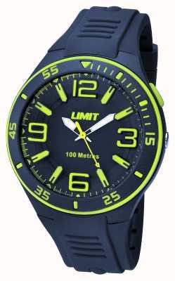 Limit Mens Navy Marinha Marinha Disque 5569.24