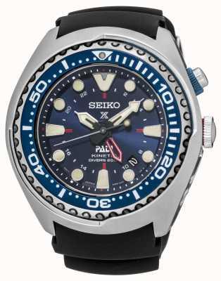Seiko Prospex padi certificado kinetic gmt special edition SUN065P1
