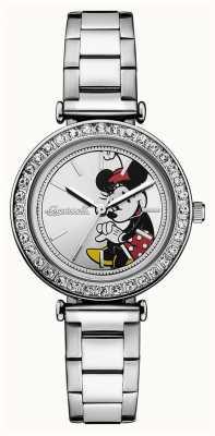 Disney By Ingersoll União das mulheres o disney prata aço inoxidável discar ID00305