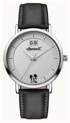 Disney By Ingersoll União das mulheres a bracelete de couro preto da Disney ID00501