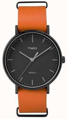 Timex Dial fairfield preto unisex weekender TW2P91400