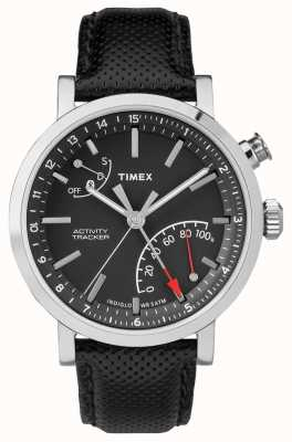 Timex Mens rastreador de atividade bluetooth cronógrafo metropolitano TW2P81700
