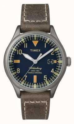 Timex Unisex a pulseira marrom waterbury dial marrom TW2P84400