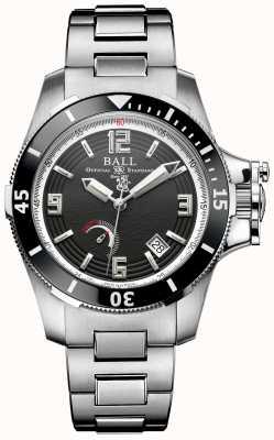 Ball Watch Company Mens hunter de edição limitada engenheiro de hidrocarboneto automático PM2096B-S1J-BK