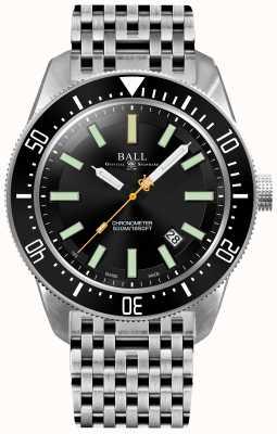 Ball Watch Company Mens engenheiro mestre ii skindiver ii cronômetro automático DM3108A-SCJ-BK