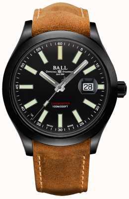Ball Watch Company Engenheiro ii boinas verdes caso de carboneto de titânio automático NM2028C-L4CJ-BK