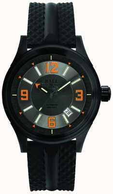 Ball Watch Company Fireman racer dlc pulseira de borracha automática mostrador cinza NM3098C-P1J-GYOR