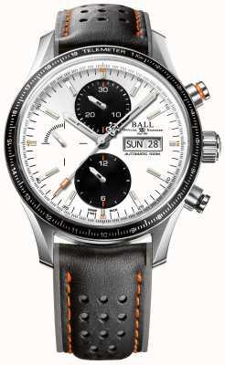Ball Watch Company Caçador de tempestades de bombeiro pro cronógrafo automático CM3090C-L1J-WH