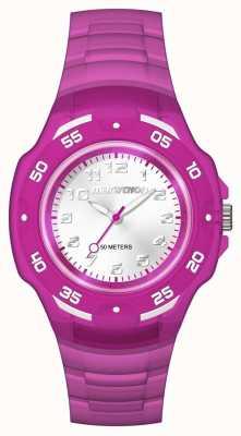 Timex Maratona Unisex análogo meio roxo TW5M06600
