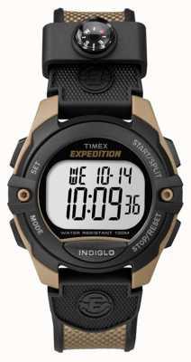 Timex Mens expedição cronógrafo despertador marrom TW4B07800