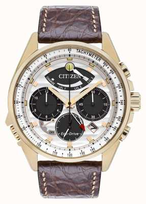 Citizen Mens calibre 2100 cronógrafo de alarme de edição limitada AV0068-08A