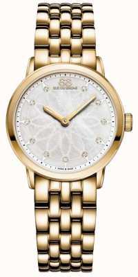 88 Rue du Rhone Duplo 8 origem senhoras ouro diamante 87WA152901