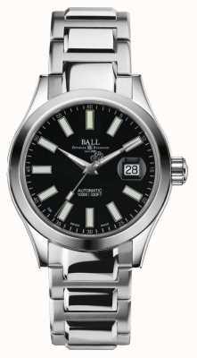 Ball Watch Company Mens engenheiro ii automático de aço inoxidável mostrador preto NM2026C-S6-BK