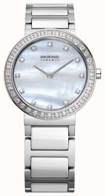 Bering Mulheres de aço inoxidável prata 10729-704