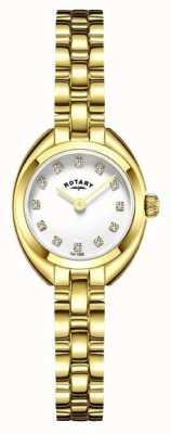 Rotary Pulseira da mulher pulseira banhado a ouro LB05015/11