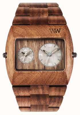 WeWood Mens jupiter rs porca cinta marrom de madeira 70331700