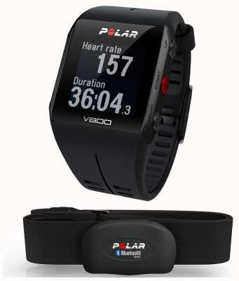 Polar Relógio multiesportivo preto V800 (com hr) 90060770