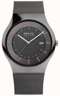 Bering Relógio clássico solar para homem 14640-077
