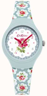 Cath Kidston Senhoras provence rosa azul impresso relógio CKL025U