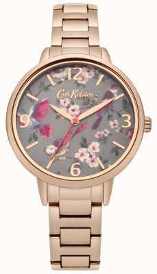 Cath Kidston Senhoras britânicas das senhoras subiram pulseira de ouro CKL001RGM