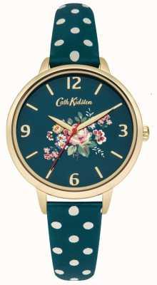 Cath Kidston Senhoras briar rosa cinta de bolinhas verde CKL004NG
