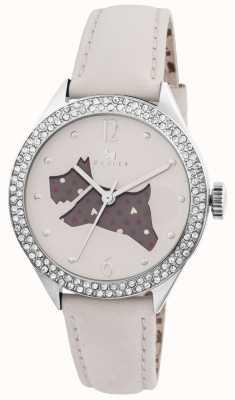 Radley O grande creme ao ar livre relógio pulseira de couro genuíno RY2205