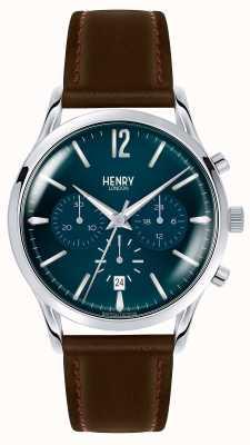 Henry London Knightsbridge dos homens HL41-CS-0107