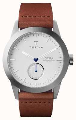 Triwa Couro Marrom spira Marfim SPST102-CL010212