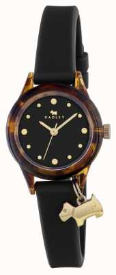Radley Bracelete de silcone preto RY2324