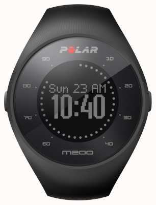 Polar Unisex preto m200 gps pulso hr m / l 90061201