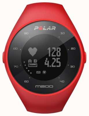 Polar Unisex vermelho m200 gps m / l pulso h 90061217
