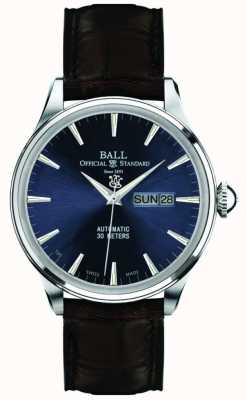 Ball Watch Company Eternity azul discagem trainmaster NM2080D-LJ-BE