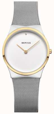 Bering Womans classic mesh gold detail 12130-014