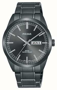 Pulsar Relógio de aço inoxidável cinzento PJ6075X1