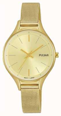 Pulsar Relógio banhado a ouro PH8278X1