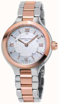 Frederique Constant O prazer da mulher horological smartwatch activity tracker FC-281WH3ER2B