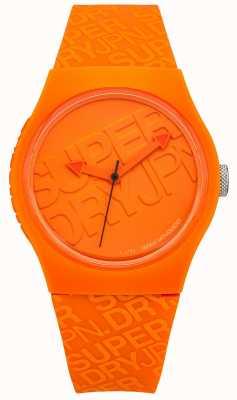 Superdry Silicone laranja urbano unisex SYG169O