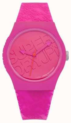 Superdry Silicone rosa urbano da mulher SYL169P