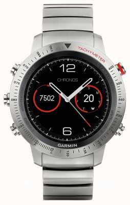 Garmin Fenix chronos titanium hybrid (cinta preta esportiva) 010-01957-01